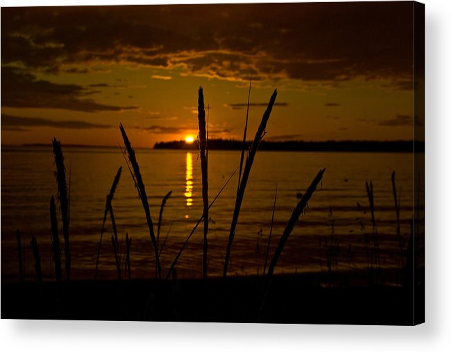 Acrylic Print featuring the photograph End Of A Good Day by JK Photography