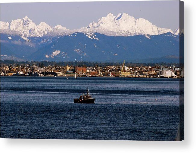 Acrylic Print featuring the photograph Everett by JK Photography