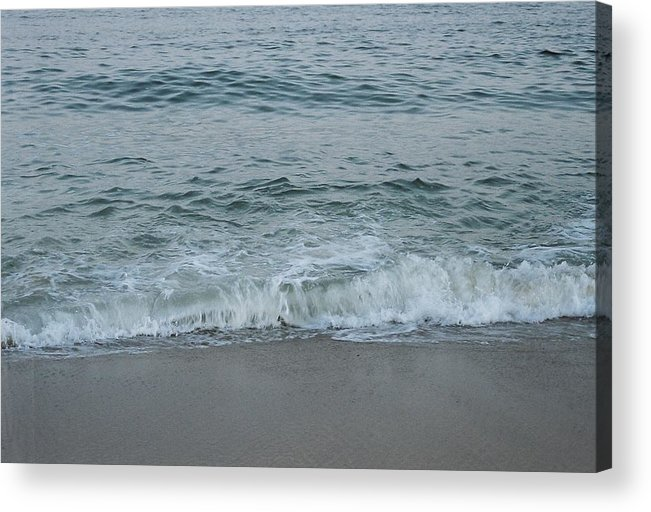 Ocean Acrylic Print featuring the photograph Evergreen Sea Charlestown R.i. by Cheryl Vatcher-Martin
