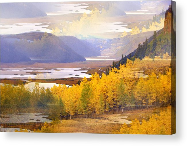 Fall Acrylic Print featuring the photograph Fall In The Rockies by Marty Koch