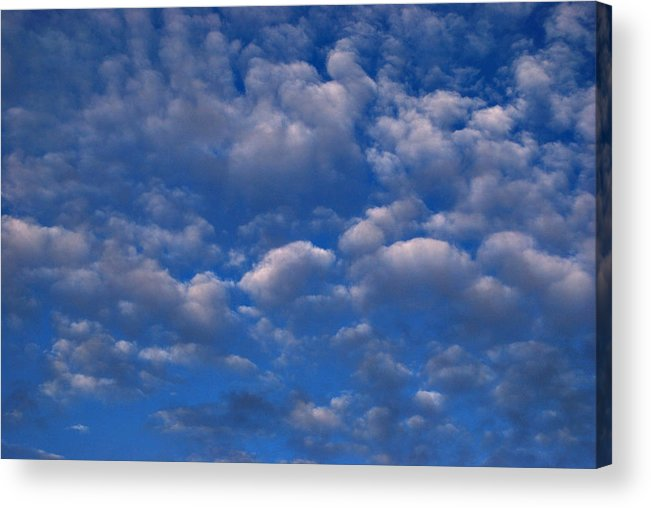 Clouds Acrylic Print featuring the photograph Feeling The Wonder by Marilynne Bull