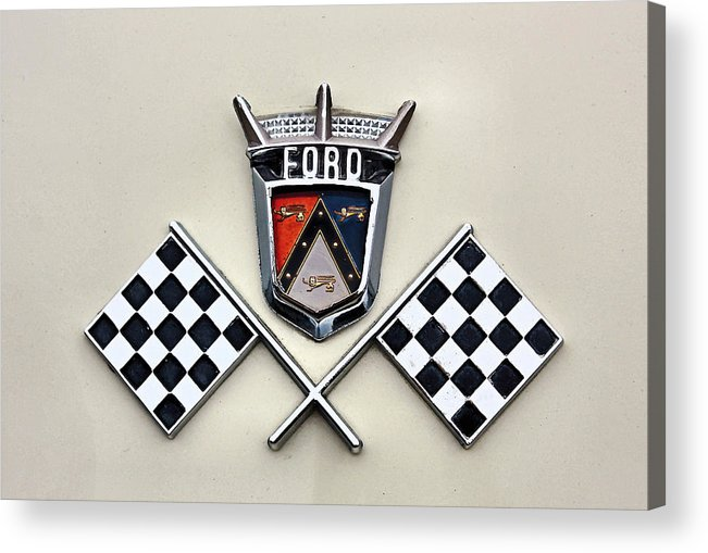 Ford Acrylic Print featuring the photograph Ford by Kristin Elmquist