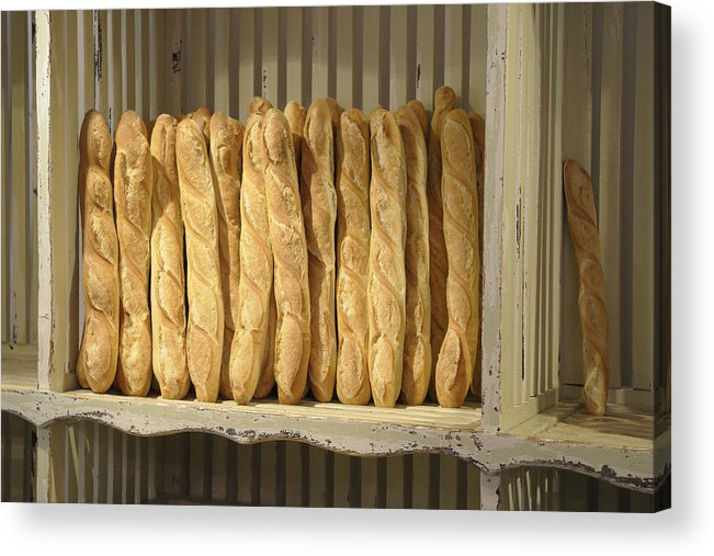 France Acrylic Print featuring the photograph French Bread In Roussillon by Kevin Oke