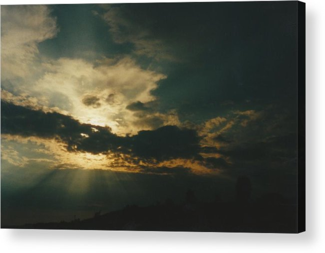 Photo Acrylic Print featuring the photograph Gary Indiana by Gene Linder