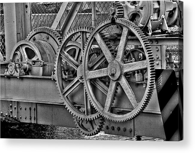 Miami Springs Acrylic Print featuring the photograph Gears by William Wetmore