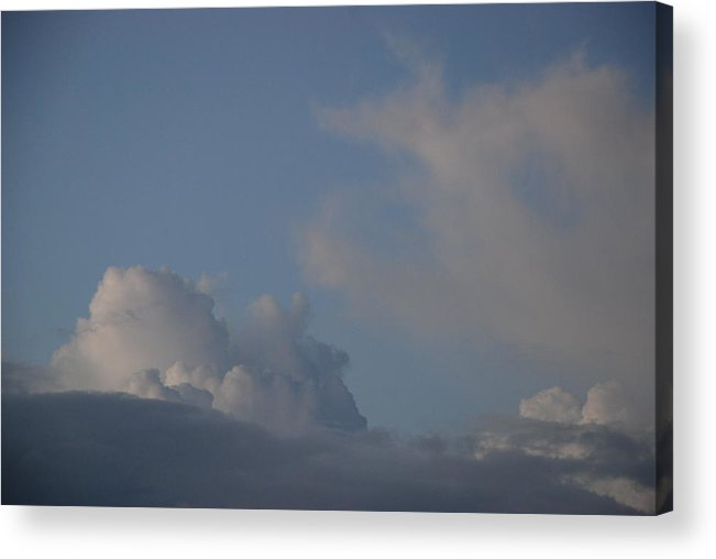 Clouds Acrylic Print featuring the photograph Greyskys by Rob Hans