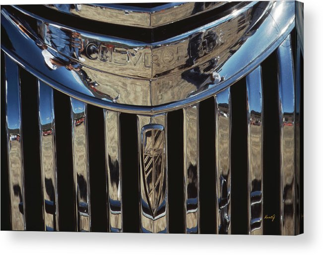 Antique Chevrolet Acrylic Print featuring the photograph Happy Chevrolet by Kurt Gustafson