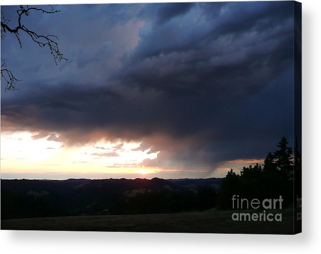 Nature Acrylic Print featuring the photograph Heaven Speaks by JoAnn SkyWatcher