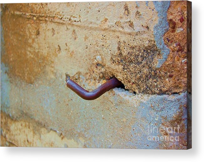 Metal Acrylic Print featuring the photograph Hook by Debbi Granruth