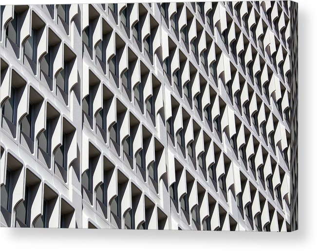 Architecture Acrylic Print featuring the photograph Human Beehive by Ramunas Bruzas