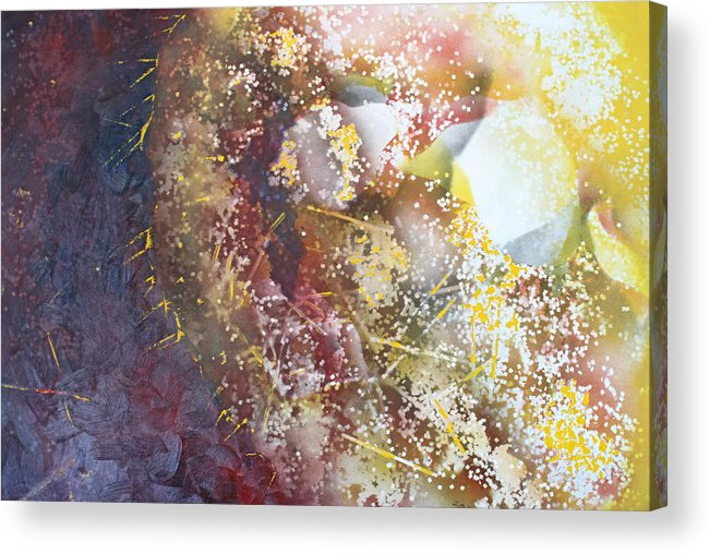 Spriteual Acrylic Print featuring the painting Light In The Fermement by Roy Woods