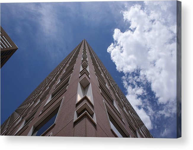 Architecture Acrylic Print featuring the photograph Long Way Up by Brian Anderson