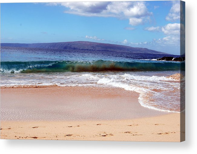 Acrylic Print featuring the photograph Maui Water by JK Photography