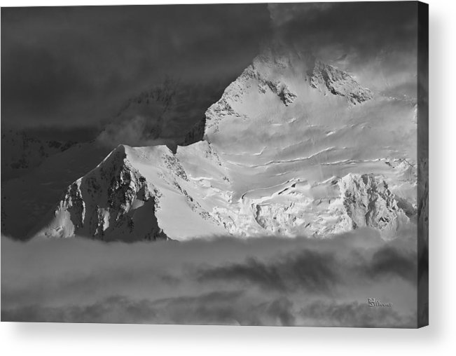 Alaska Acrylic Print featuring the photograph Mount Mckinley by Max Steinwald