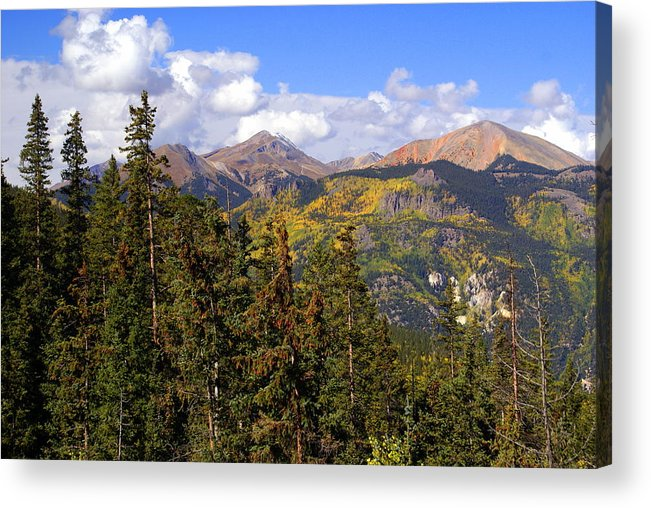 Colorado Acrylic Print featuring the photograph Mountains Aglow by Marty Koch