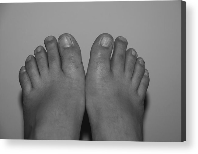 Pop Art Acrylic Print featuring the photograph My Feet By Hans by Rob Hans