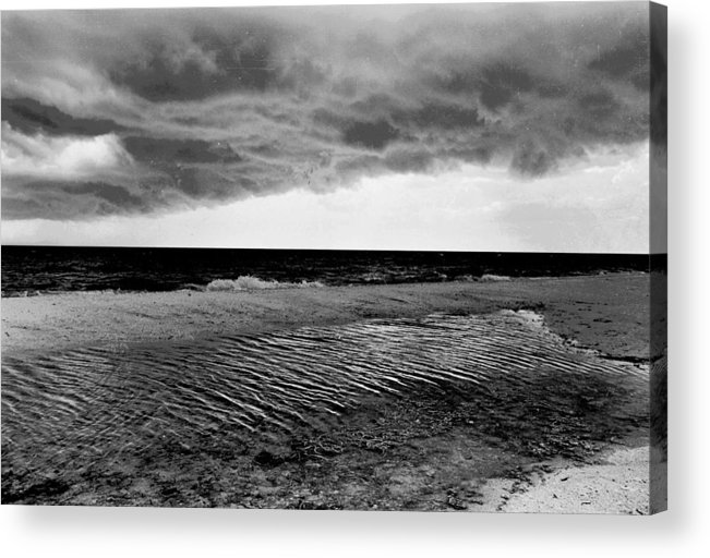 Florida Acrylic Print featuring the photograph No Name Storm by Michael L Kimble