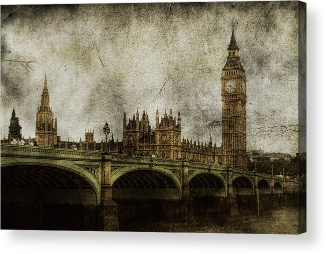 London Acrylic Print featuring the photograph Noble Attributes by Andrew Paranavitana