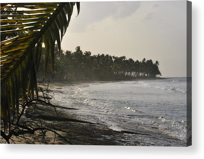Ocean Acrylic Print featuring the photograph Ocean Breeze by Matthew Fredricey