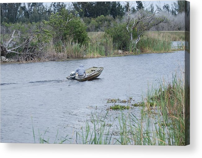 River Acrylic Print featuring the photograph Old Man River by Rob Hans