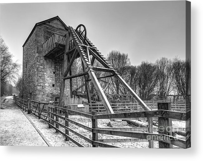 Mine Acrylic Print featuring the photograph Old Mine by Adrian Evans