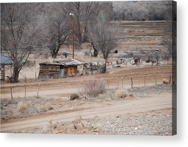 House Acrylic Print featuring the photograph Old Ranch House by Rob Hans