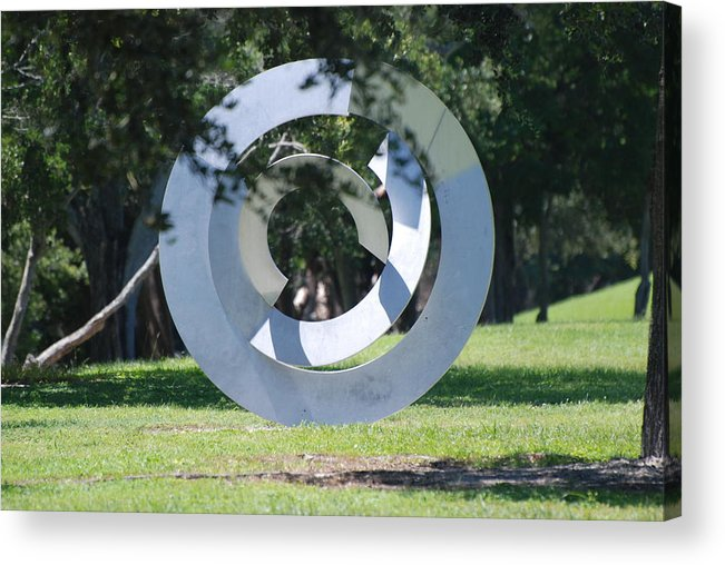 Landscape Acrylic Print featuring the photograph Orbs by Rob Hans