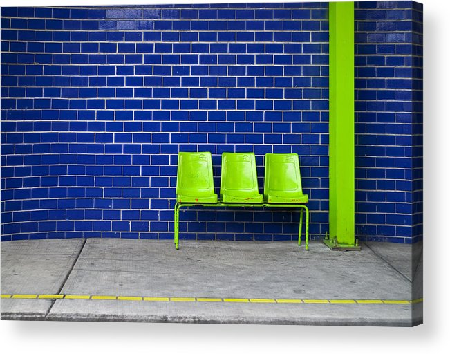 Green Acrylic Print featuring the photograph Paradaxochi by Skip Hunt