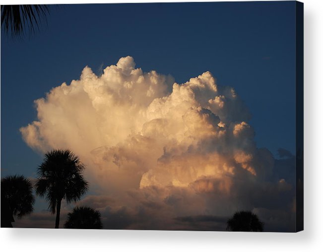 Clouds Acrylic Print featuring the photograph Paradise by Rob Hans