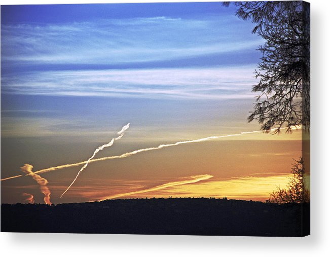Landscape Acrylic Print featuring the photograph Peace by M Ryan