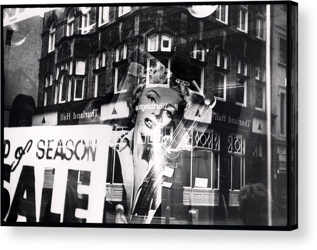 Marilyn Acrylic Print featuring the photograph Photograph Of Marilyn by Charles Stuart