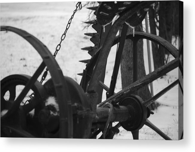 Machinery Acrylic Print featuring the photograph Plow by Peter McIntosh