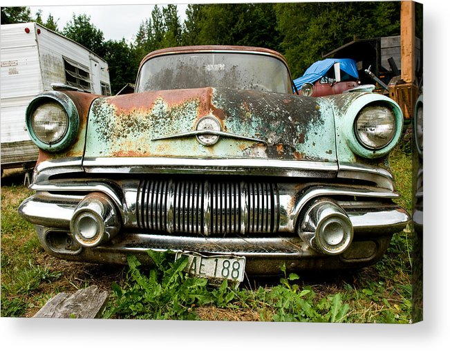 Pontiac Acrylic Print featuring the photograph Pontiac Smile by Jennifer Owen