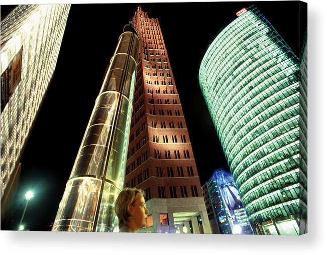 Berlin Acrylic Print featuring the photograph Potsdamer Platz Berlin by Brad Rickerby