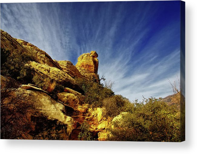 Landscape Acrylic Print featuring the photograph Radience by Stephen Campbell