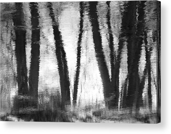 Reflections Acrylic Print featuring the photograph River Reflections by Bob Schlake
