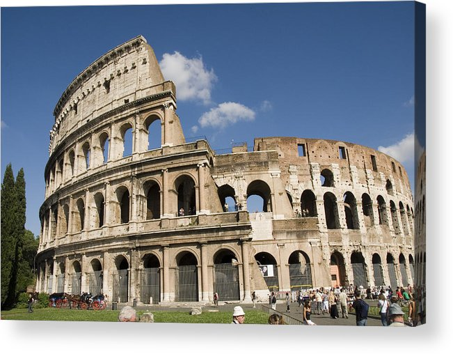 Rome Acrylic Print featuring the photograph Rome by Charles Ridgway