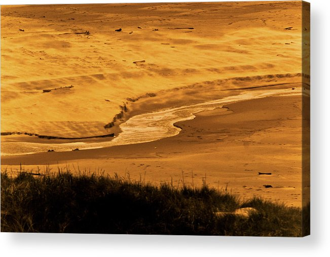 Oregon Coast Acrylic Print featuring the photograph Sands Of Time by Craig Perry-Ollila