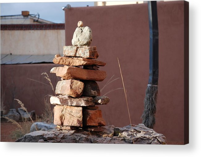 Pop Art Acrylic Print featuring the photograph Sante Fe Rocks by Rob Hans