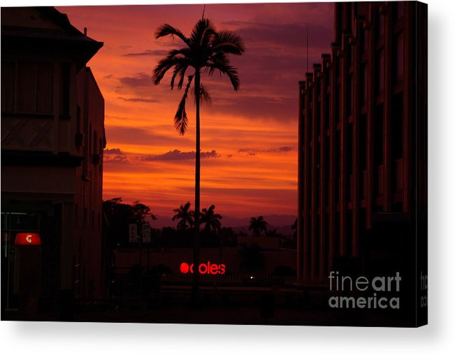 Innisfail Acrylic Print featuring the photograph Solitary Passage by Kerryn Madsen- Pietsch