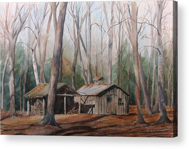 Sugar Shack Acrylic Print featuring the painting Sugar Shack by Debbie Homewood