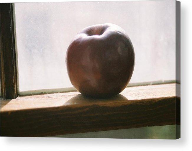 Shadows Acrylic Print featuring the photograph Sun Setting On Progress by Jennifer Trone
