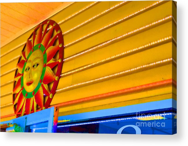 Rehoboth Acrylic Print featuring the photograph Sun Shopping by Jost Houk