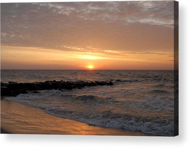 Ocean Sunrise Acrylic Print featuring the photograph Sunrise Ocean 74 by Joyce StJames