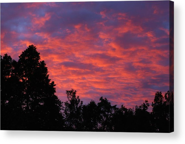 Sunset Acrylic Print featuring the photograph Sunset In Antioch by Lisa Gabrius