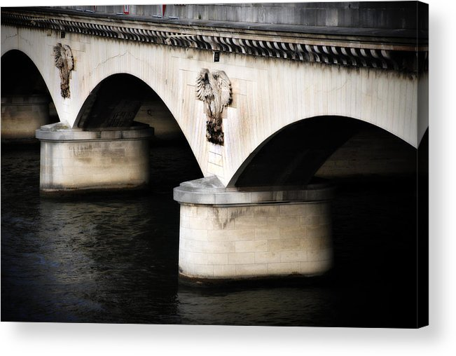 River Acrylic Print featuring the photograph The Bridge by Cabral Stock