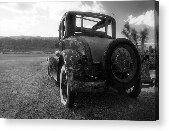 30s Acrylic Print featuring the photograph The Escape-able Dream by Wayne Stadler