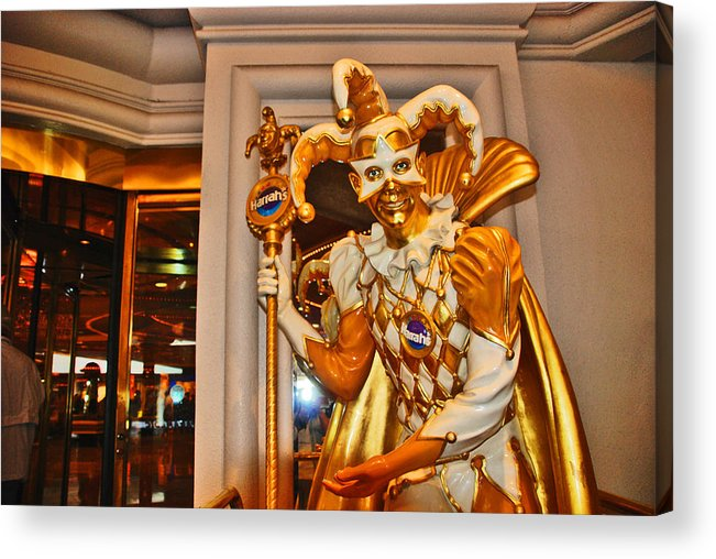 Photography Acrylic Print featuring the photograph The Fool by Susanne Van Hulst