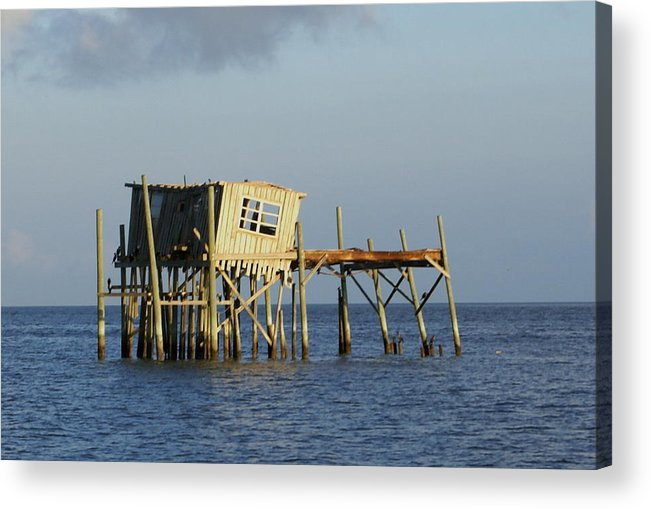 Seascape Acrylic Print featuring the photograph The Honeymoon Suite by Debbie May