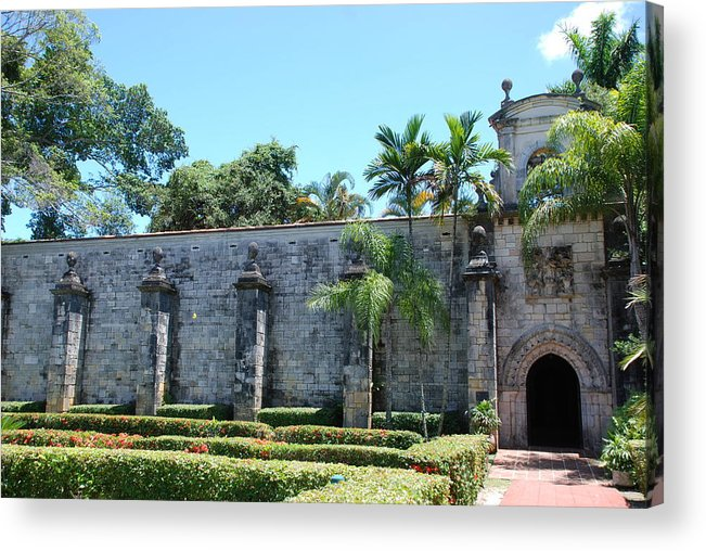 Florida Acrylic Print featuring the photograph The Miami Monastery by Rob Hans